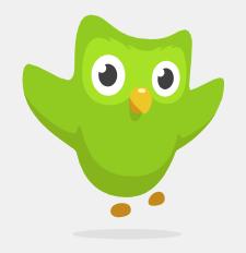 Duolingo-strigo